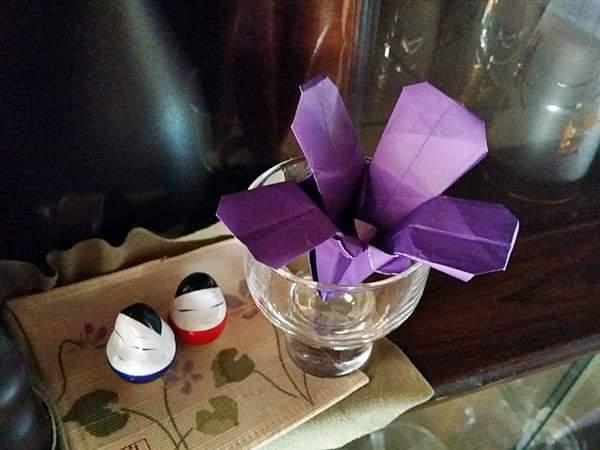 折り紙のすみれ